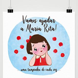 Vamos ajudar a Maria Rita!