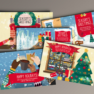 Holidays Cards Illustrations - Impark