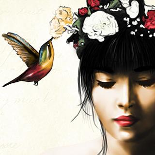 Hummingbird Girl